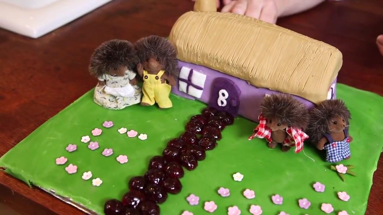 Sylvanian Family Birthday Cake Recipe
