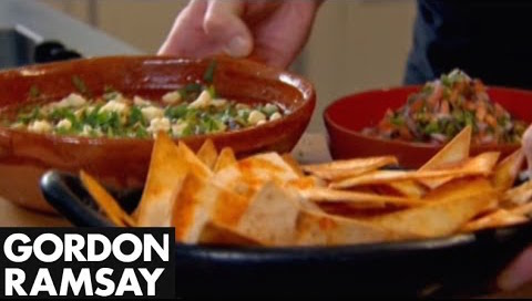 How to Make a Spicy Mexican Soup with Tortillas and Salsa - Gordon Ramsay