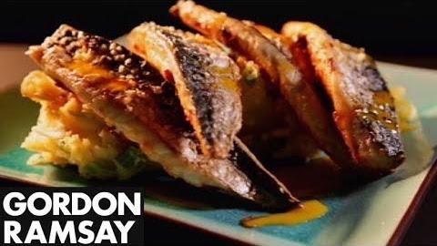 How to Make Roasted Mackerel With Garlic and Paprika - Gordon Ramsay