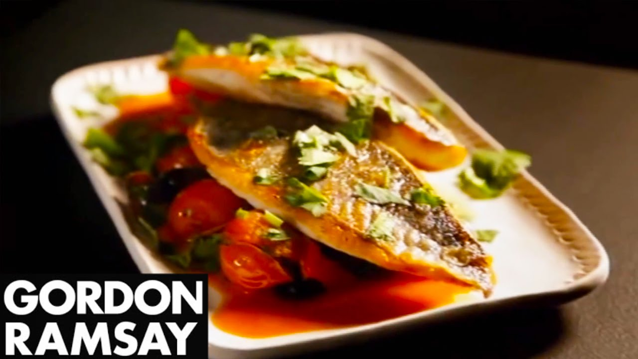 How to Make Sea Bream With Tomato and Herb Salsa - Gordon Ramsay