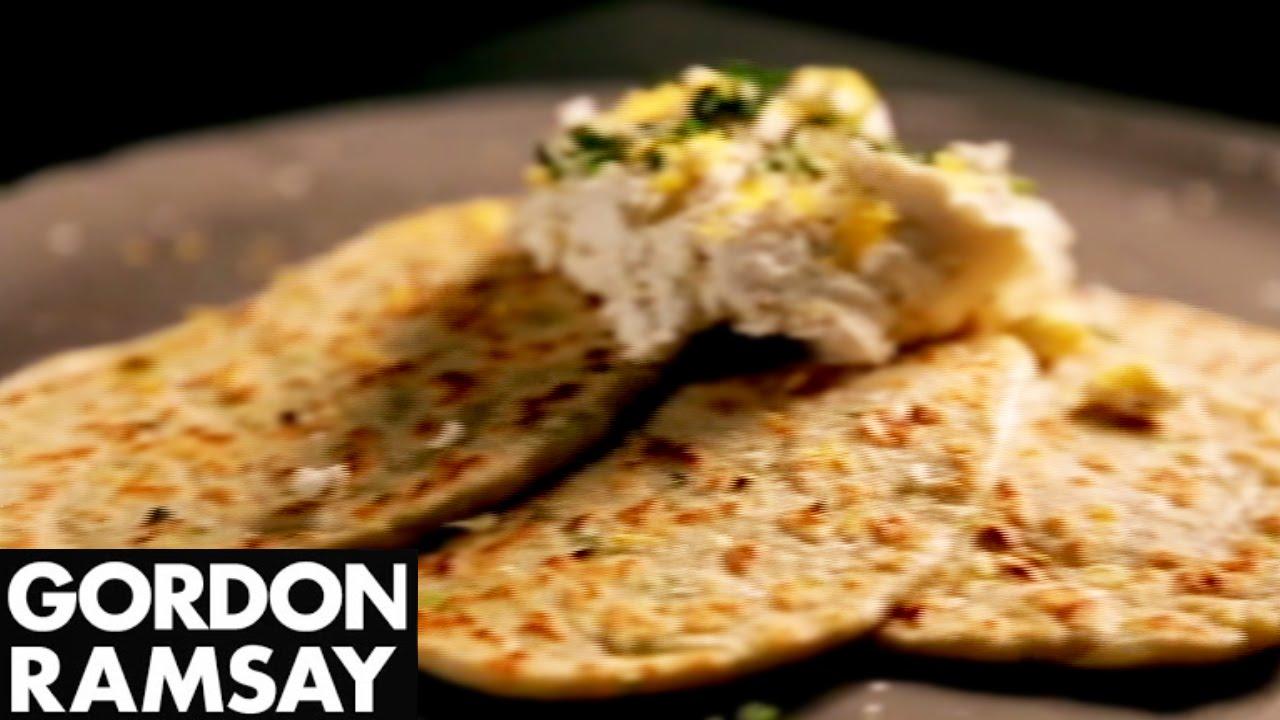 How to Make Leek Flatbreads With Ricotta and Lemon - Gordon Ramsay