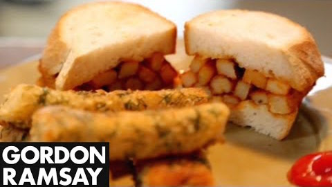 How to Make Homemade Fish Fingers With a Chip Butty - Gordon Ramsay