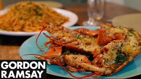 How to Make Grilled Lobster With Bloody Mary Linguine - Gordon Ramsay