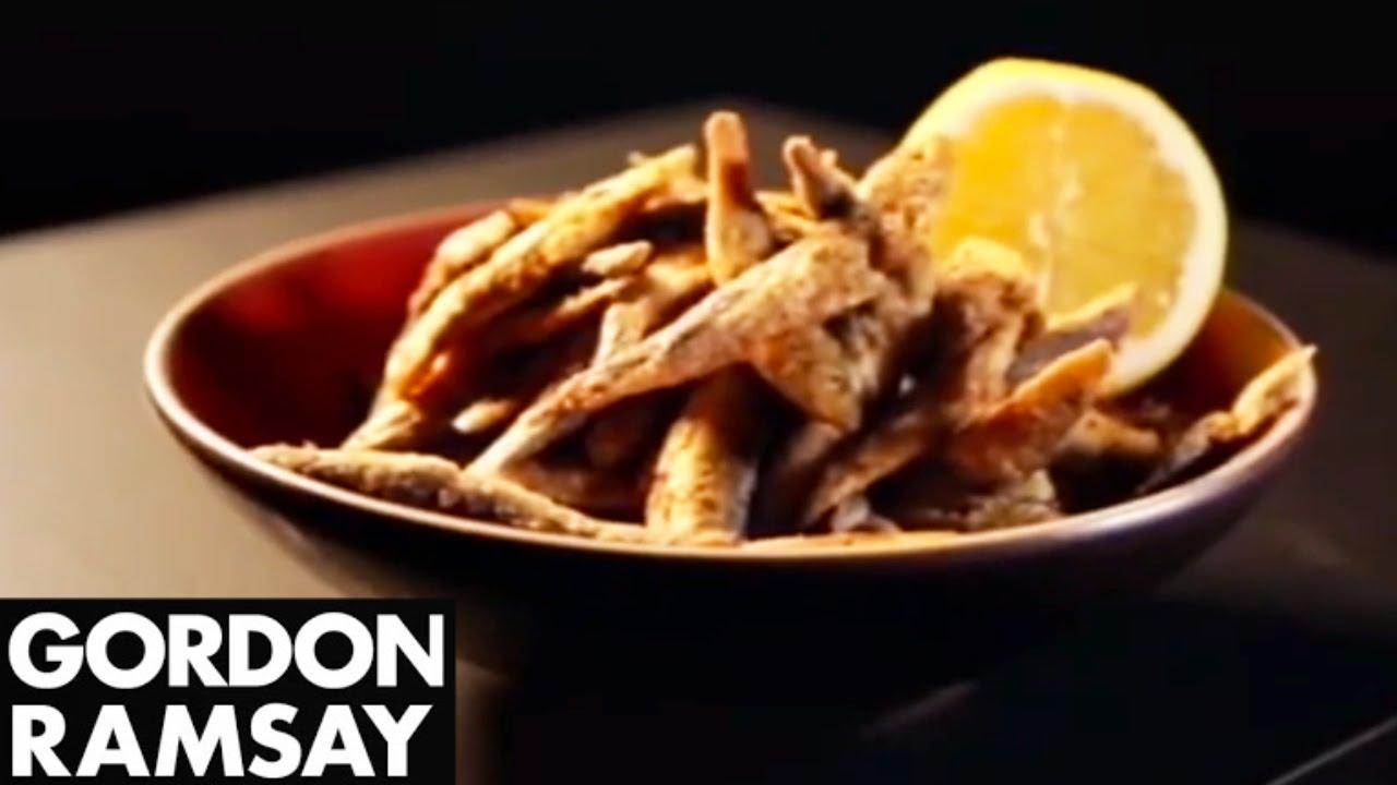 Chilli and Spice Whitebait Recipe - Gordon Ramsay