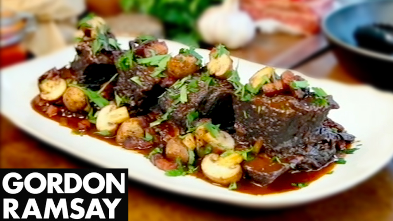 How to Make Gordon Ramsay's Slow Cooked Beef Short Ribs