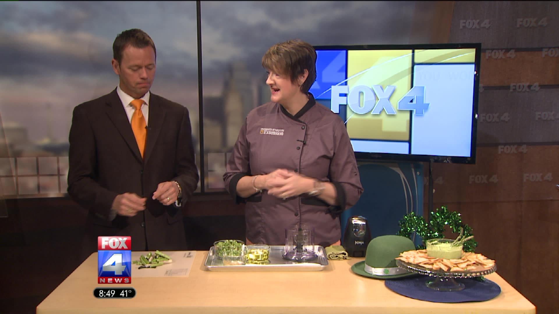 How To Make Asparagus Pesto Dip