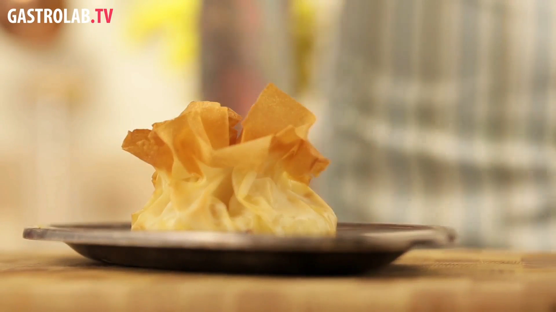 How to Make Baked Brie with Lavender Honey and Hazelnuts in Filo Pastry