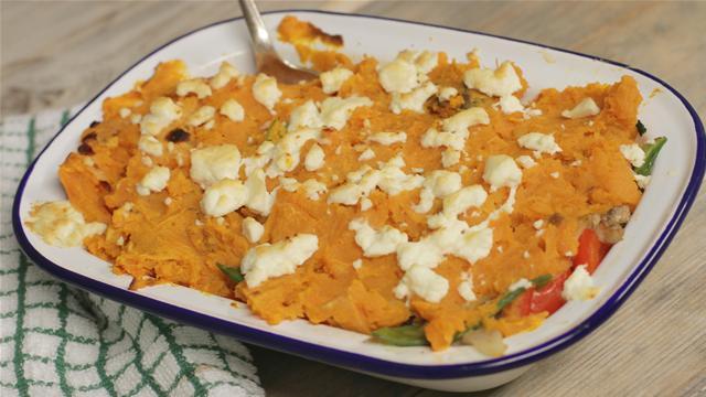 Sausage and Sweet Potato Pie Recipe