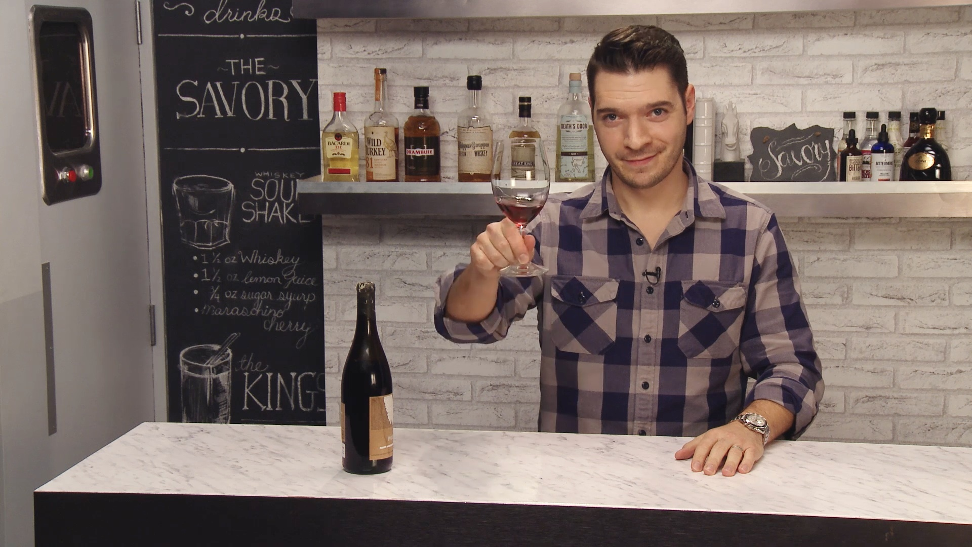 Poe 2014 Pinot Nouveau Wine Review   The Savory Does Wine
