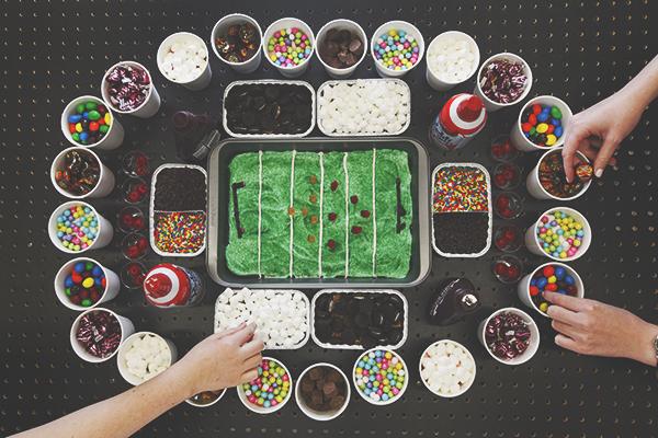How to Make the Ultimate Brownie Sundae Stadium