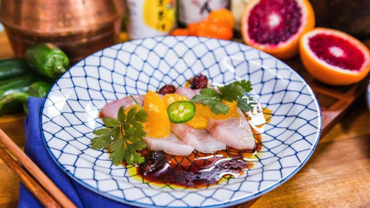 Chef Katsuji Tanabe's 'Japsican' Tuna Sashimi Recipe