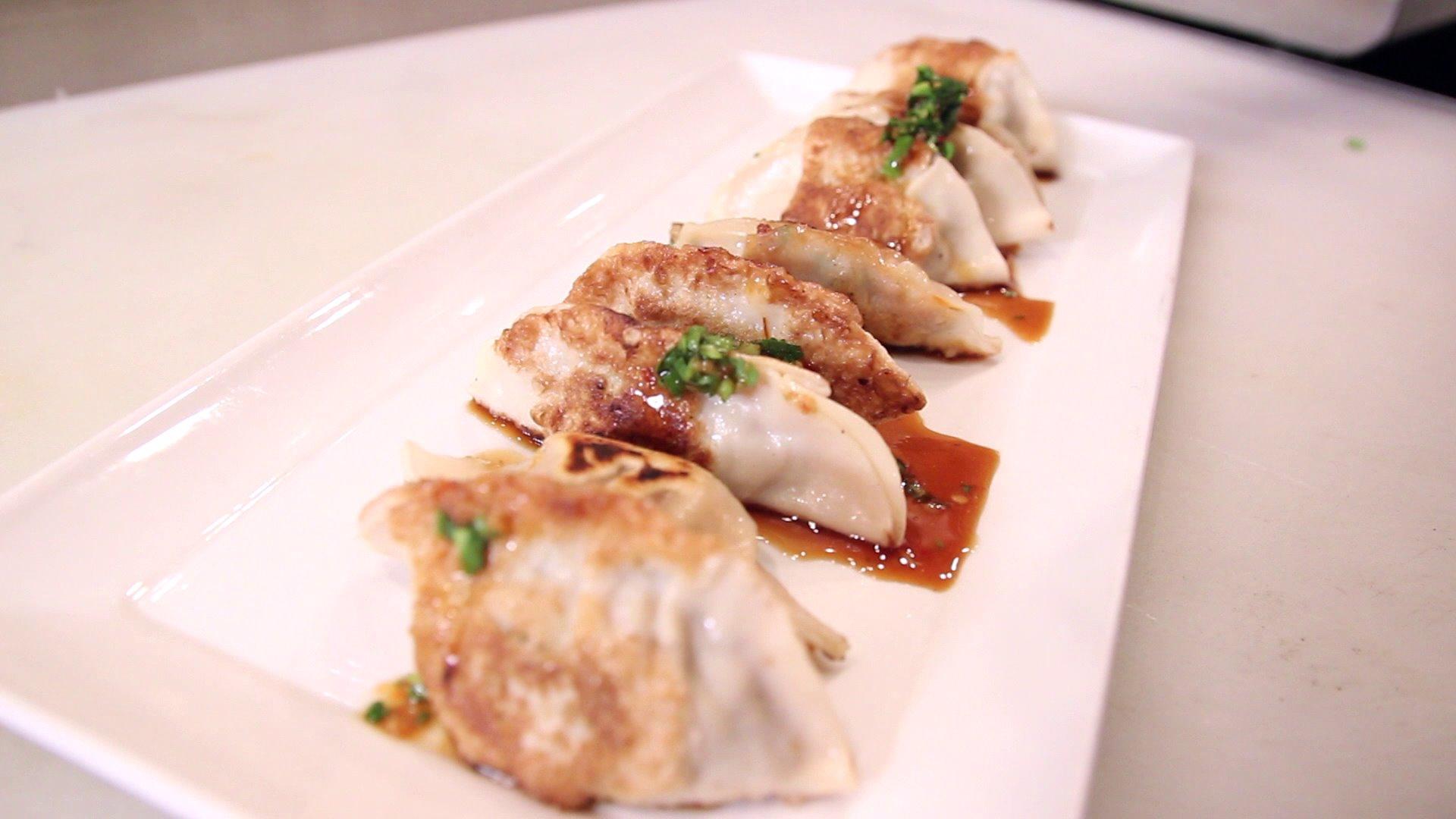 Pan Fried Pork Dumplings Recipe