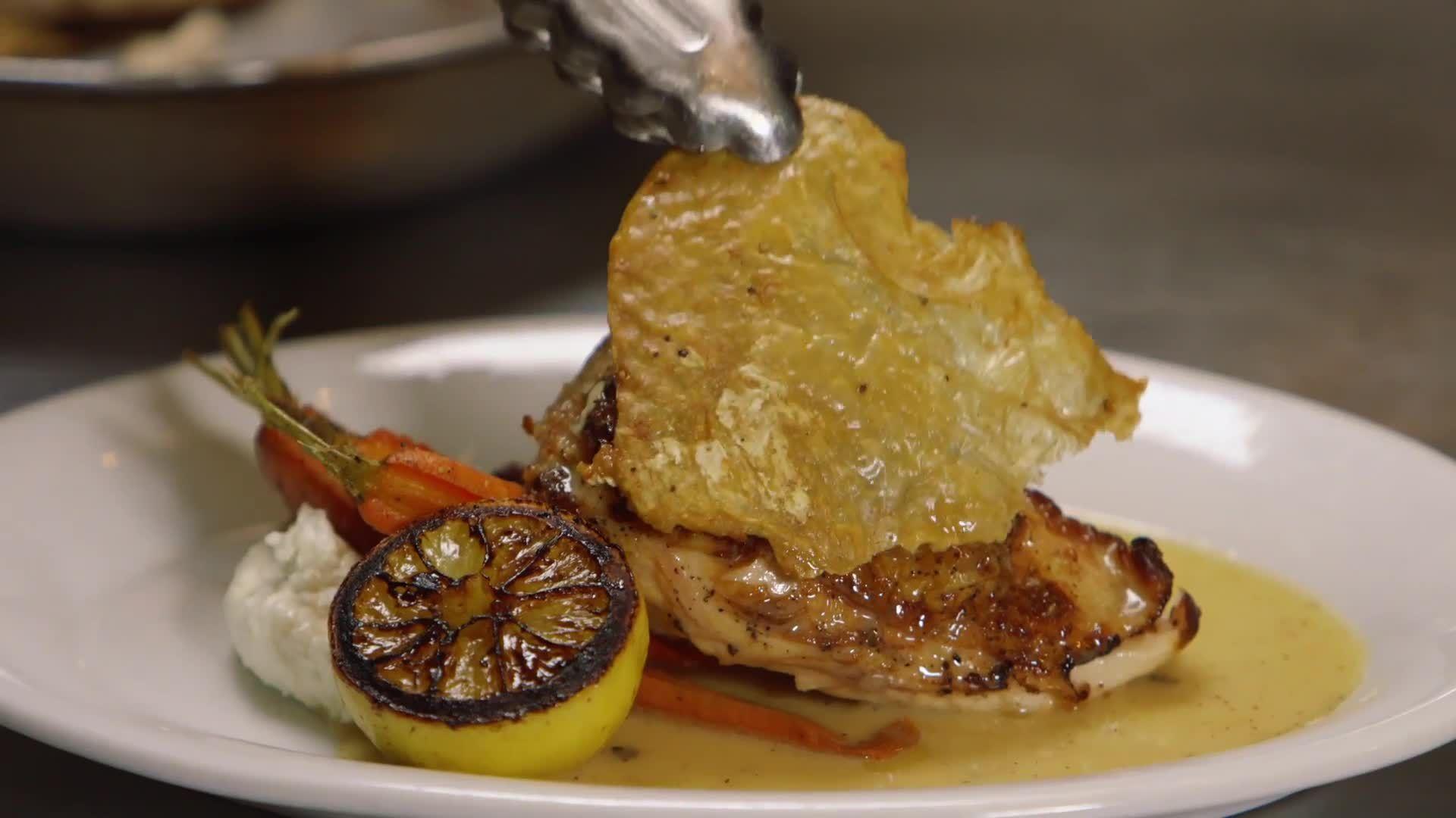 Perfectly Crispy Chicken Skin Recipe From Chef Amanda Freitag