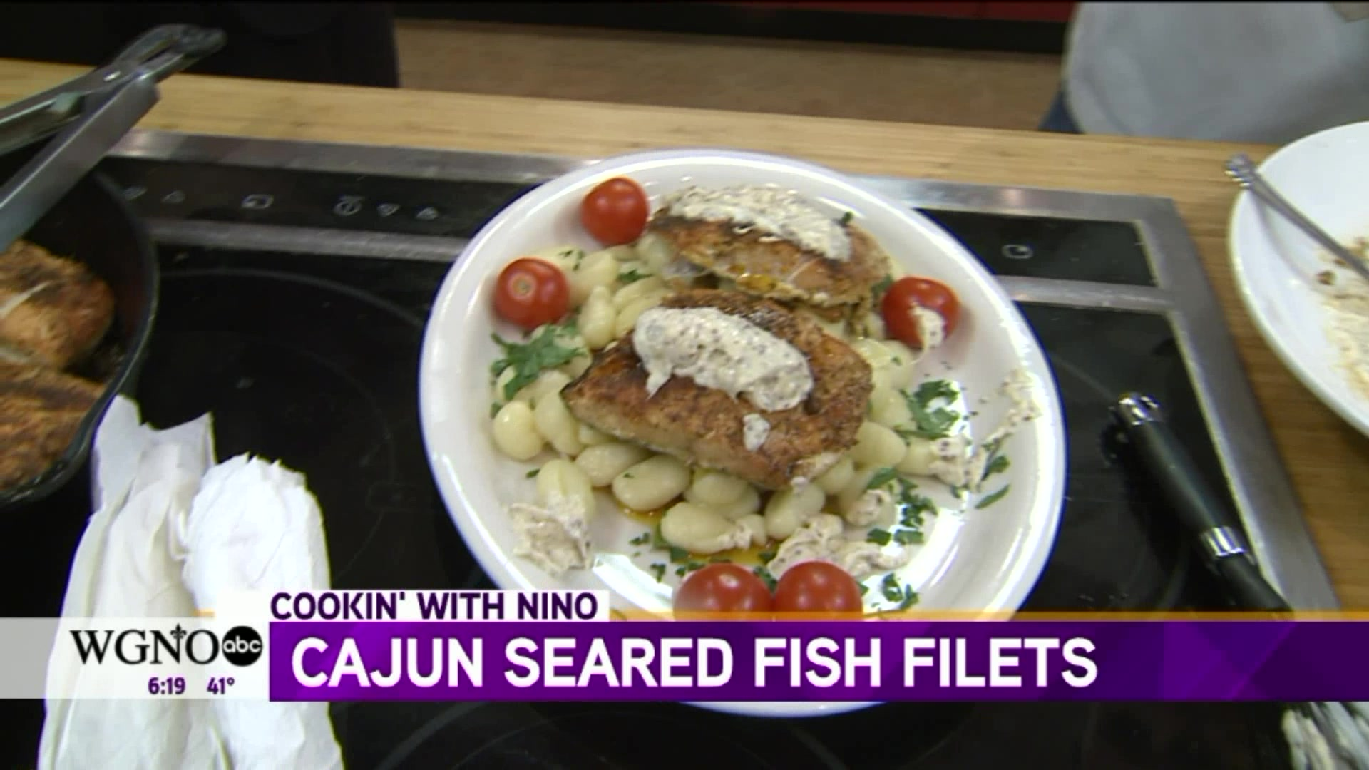 How to Make Cajun Seared Fish Filets With Remoulade Sauce