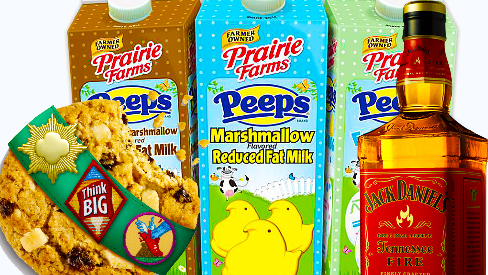 End of The Week Wrap Up: Peeps Milk, Gluten Free Girl Scout Cookies, & More