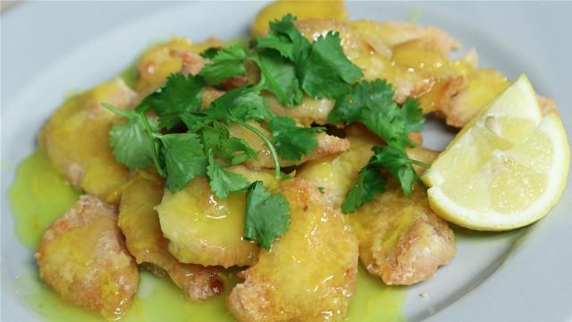 Asian Lemon Chicken Recipe