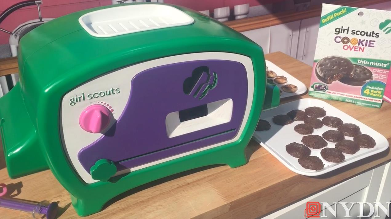 New Oven Lets You Bake Girl Scout Cookies at Home