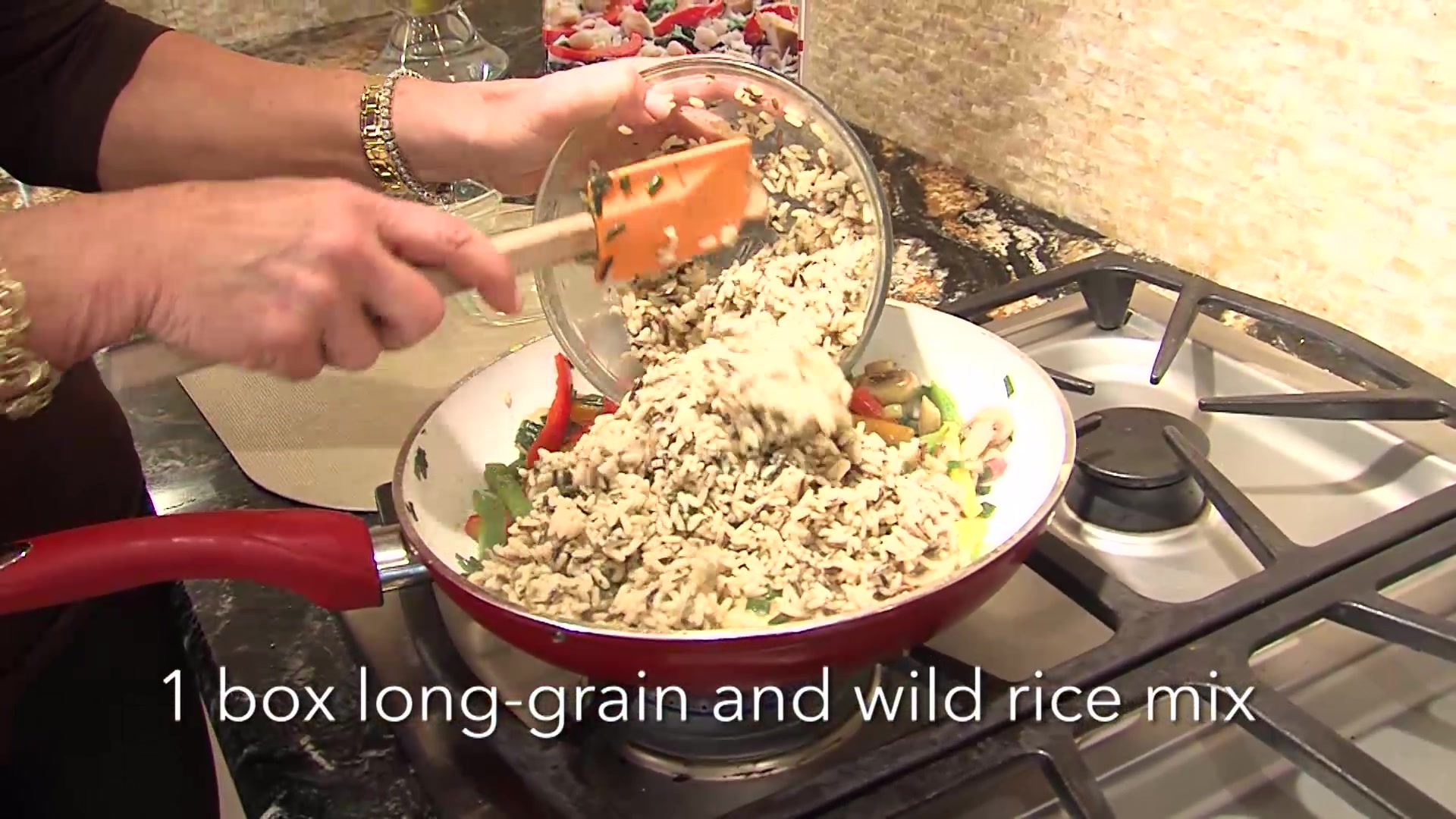 Wild Rice and Peppers Recipe