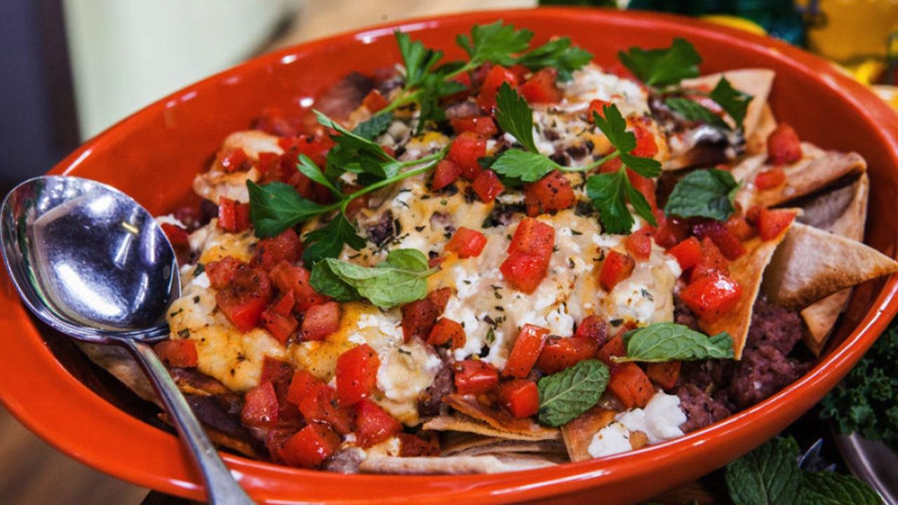 Eric Greenspan's Pita Nachos Recipe