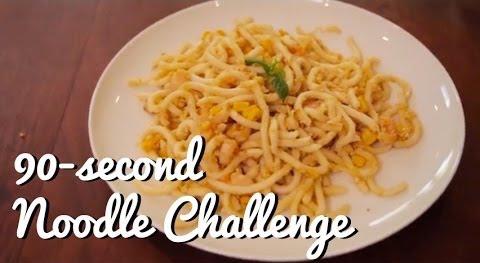 90-Second Noodle Challenge