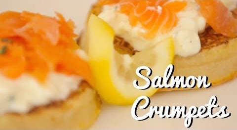 Smoked Salmon Eggy Crumpet Recipe