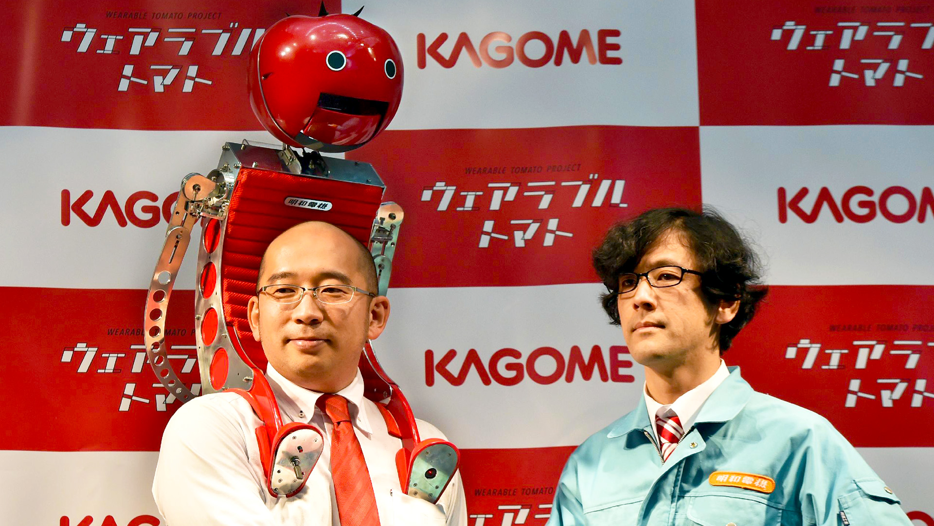 Meet Tomatan! The Friendly Japanese Robot Backpack That Feeds You Tomatoes