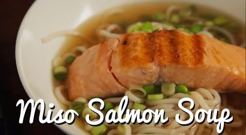 Miso Salmon Soup Recipe