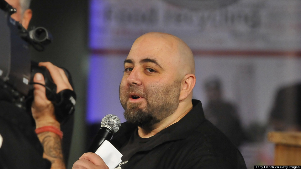 'Ace of Cakes' Baker Duff Goldman Dishes On His Crazy Big Super Bowl Cake
