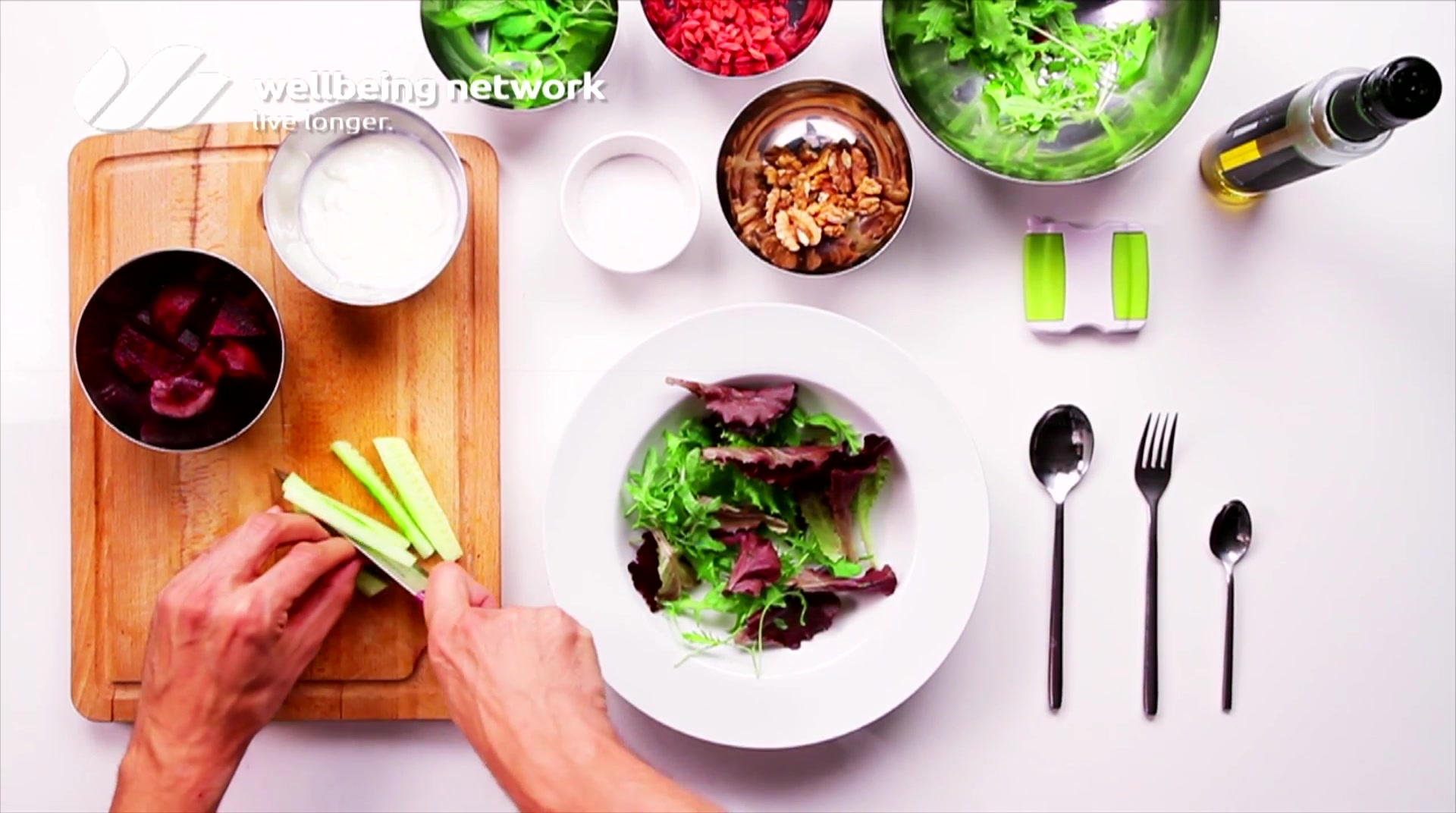 Salad Pride- David Bez: Yogurt Detox
