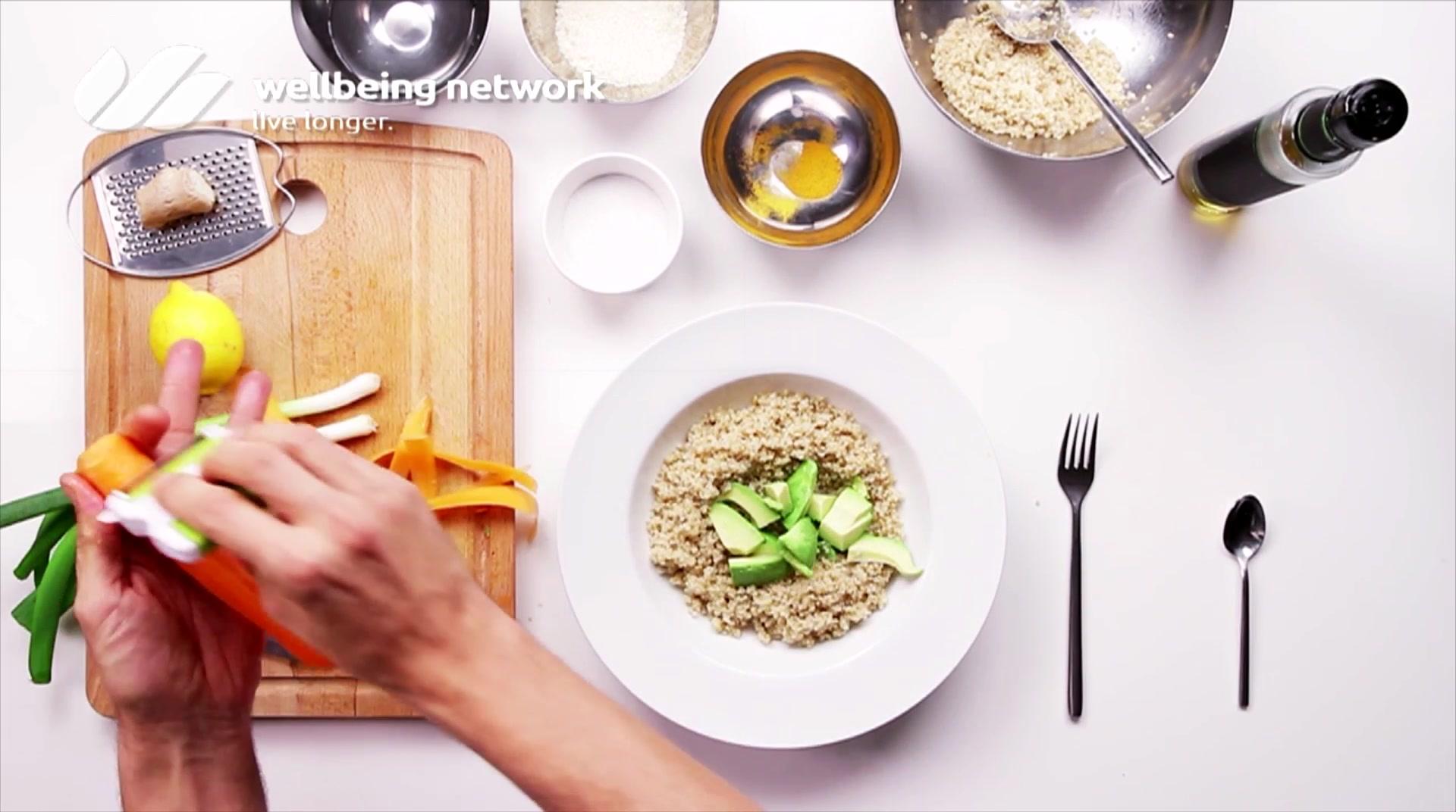 Salad Pride- David Bez: Quinoa Detox