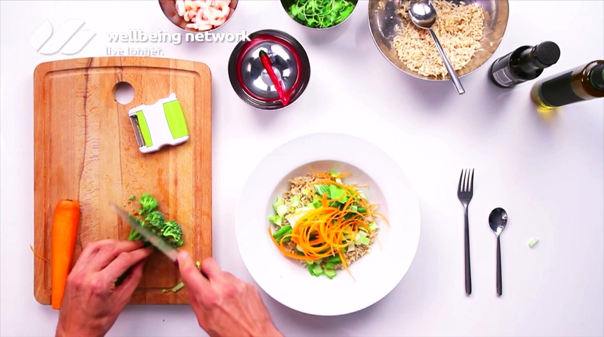 Salad Pride- David Bez: Prawn Detox