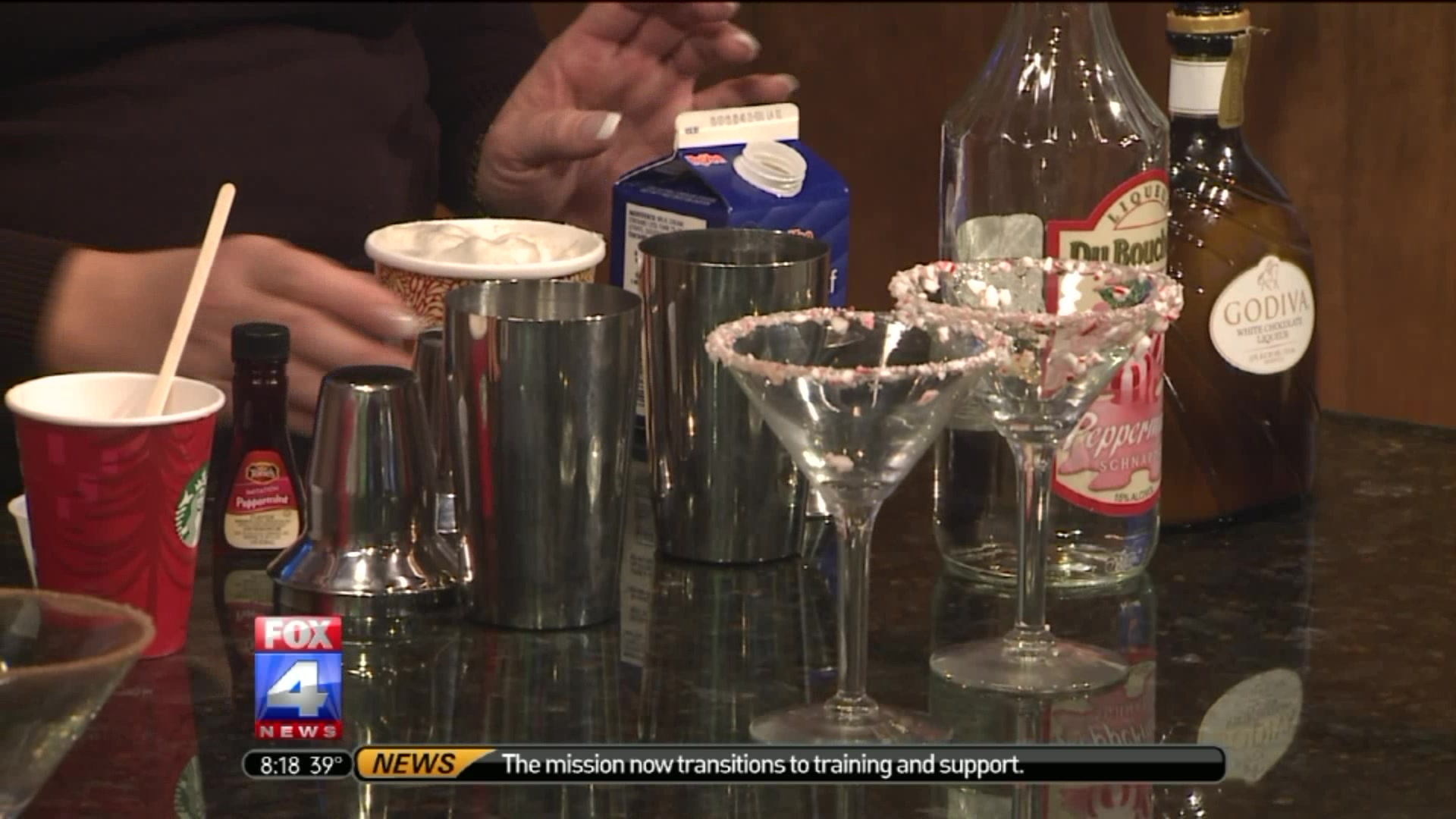 Holiday Cocktails: How To Make A Candy Cane Martini