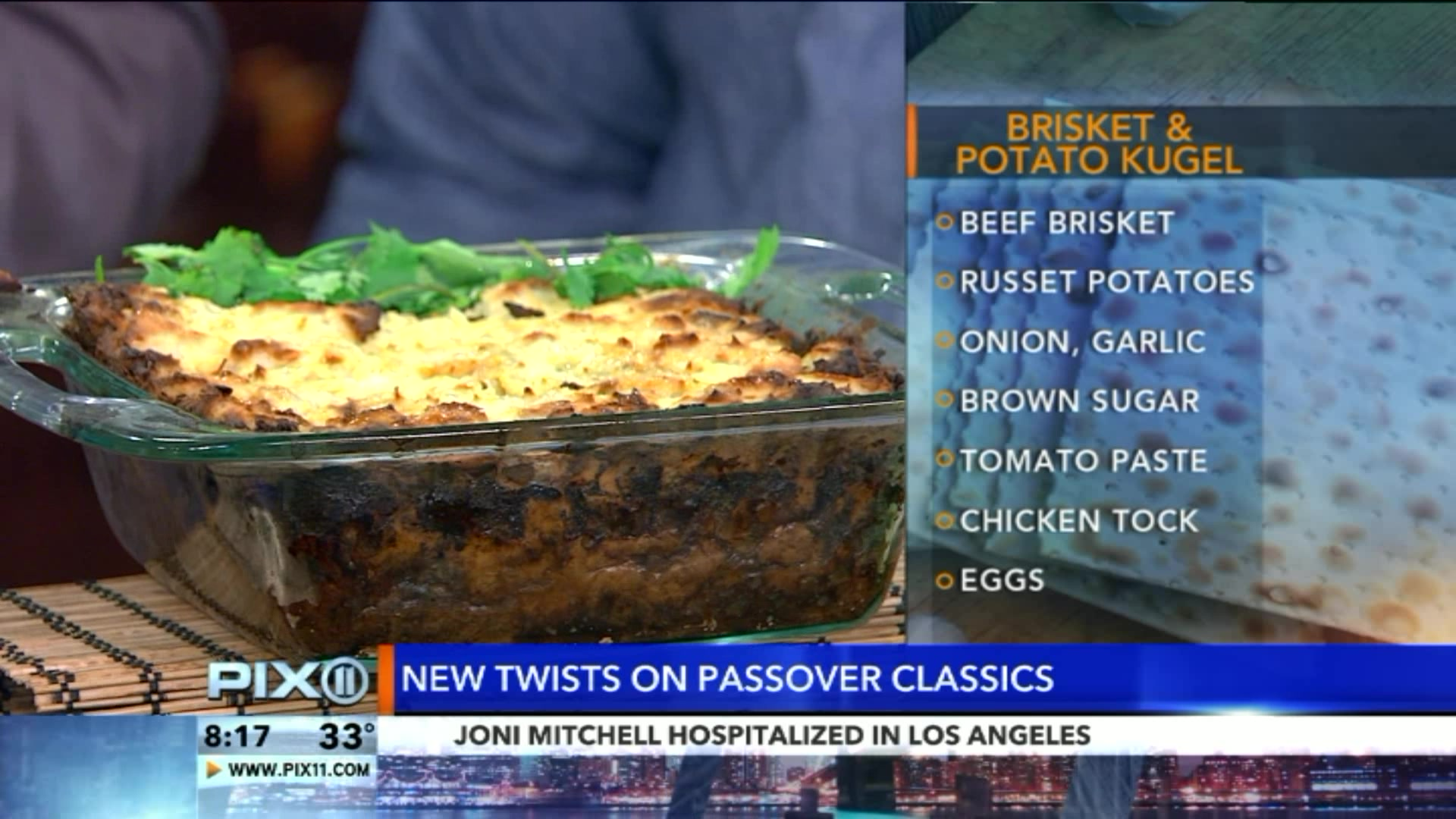 5 New Twists on Classic Passover Recipes
