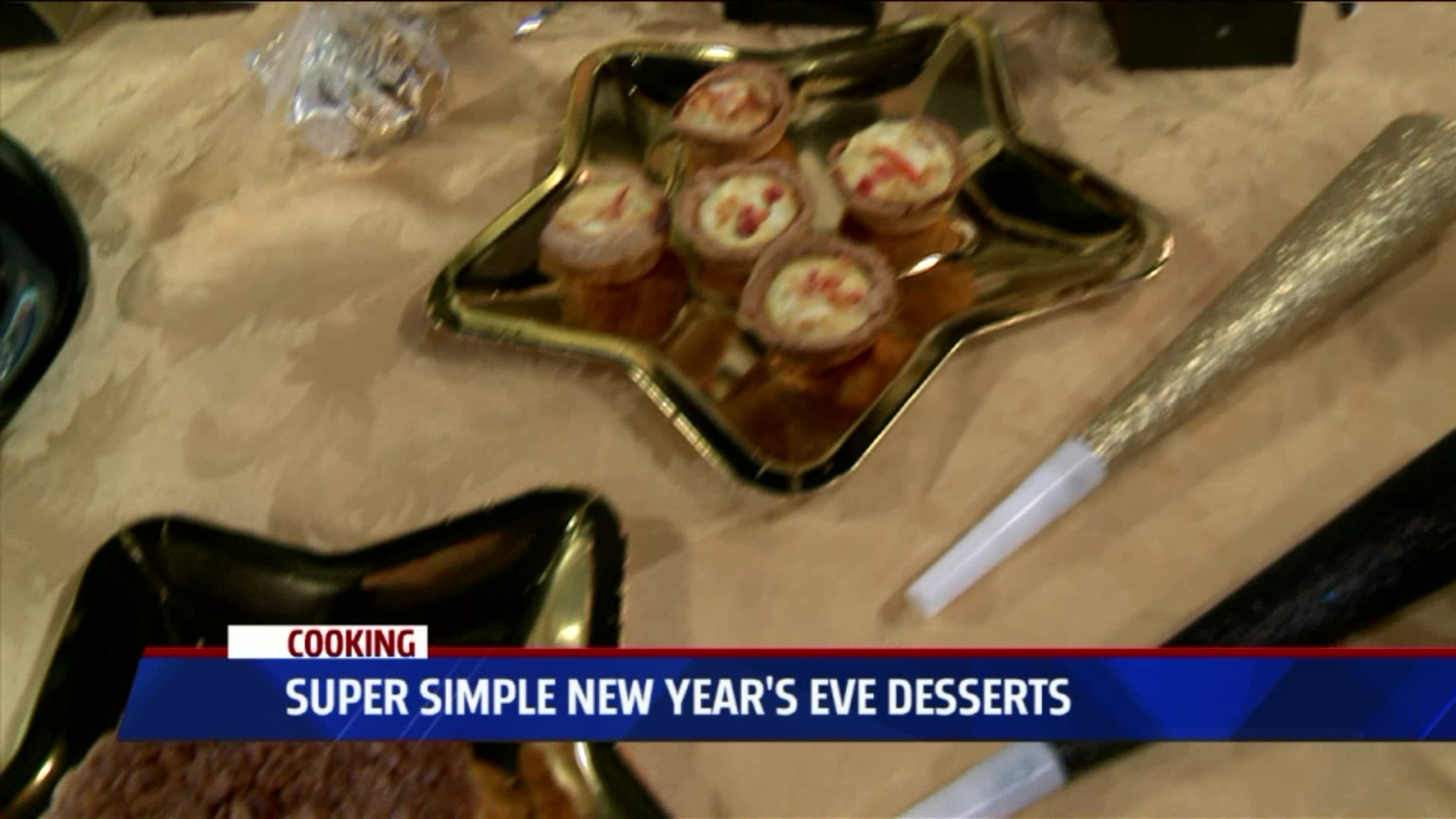 How to Make Super Simple New Year's Eve Desserts