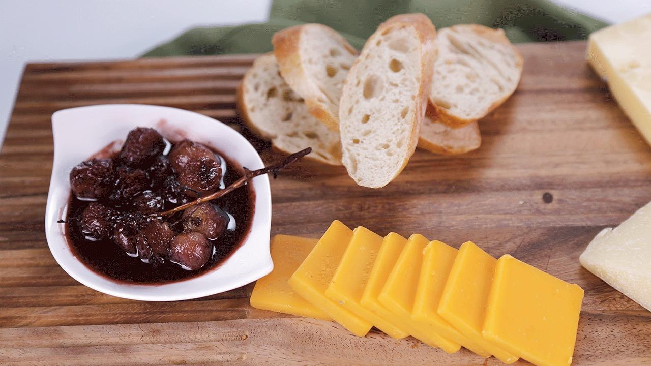 'The Chew': Roasted Grape Spread