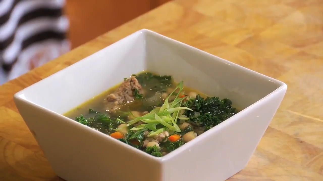 Sausage, Kale and Bean Soup Recipe