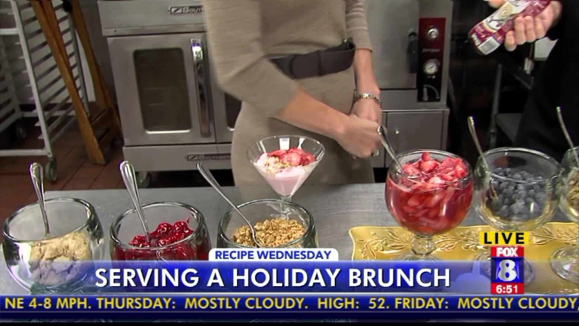 How To Set Up A Holiday Yogurt Brunch Buffet