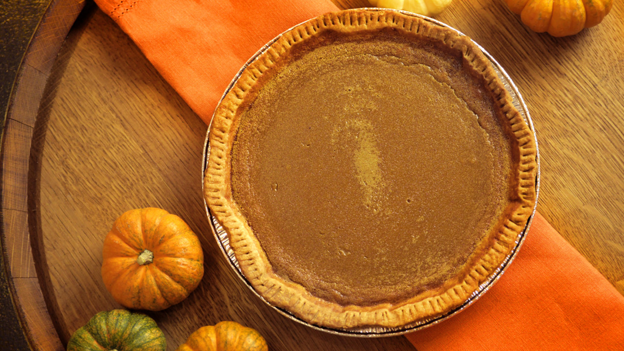 Thanksgiving or Anytime: Classic Pumpkin Pie