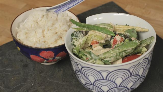 Healthy Thai Green Curry Recipe