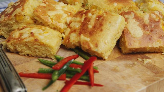 Chilli and Cheese Cornbread Recipe