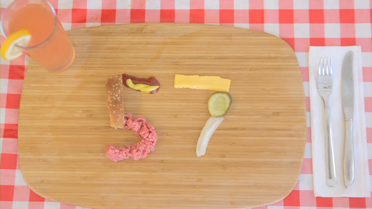 The 57 Ingredient Cheeseburger