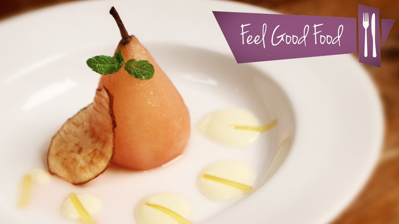 Pear Peached in Cider Recipe