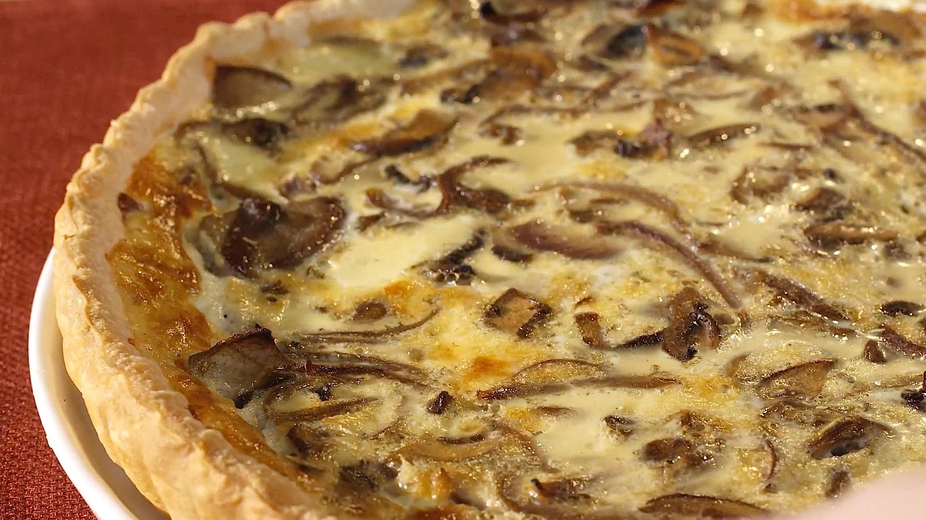 Mixed Mushroom Quiche Recipe