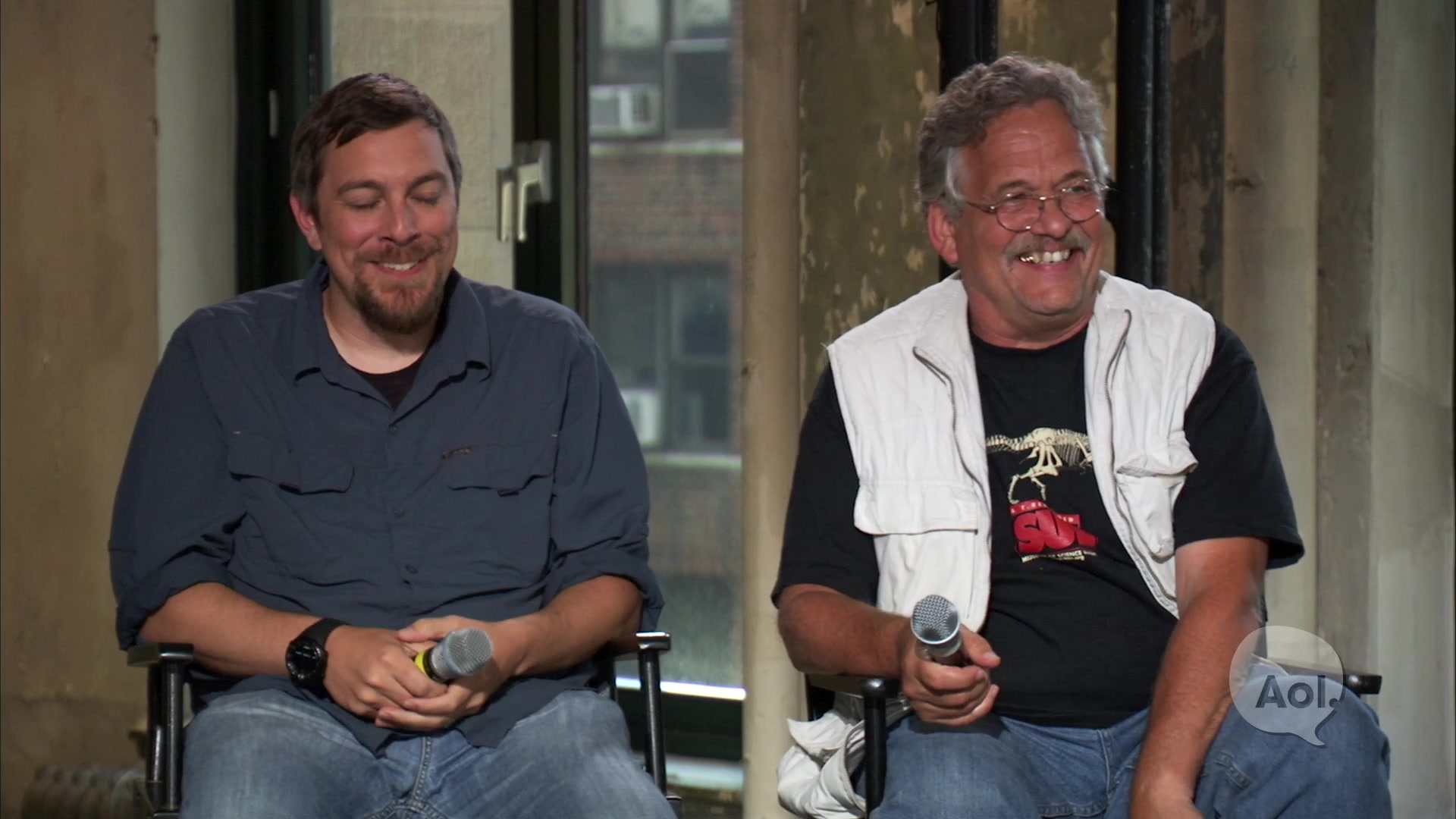 'Dinosaur 13' Director & Peter Larson on AOL BUILD