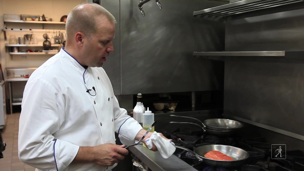 Chef Ben Pollinger's Recipe for Pan Seared Salmon