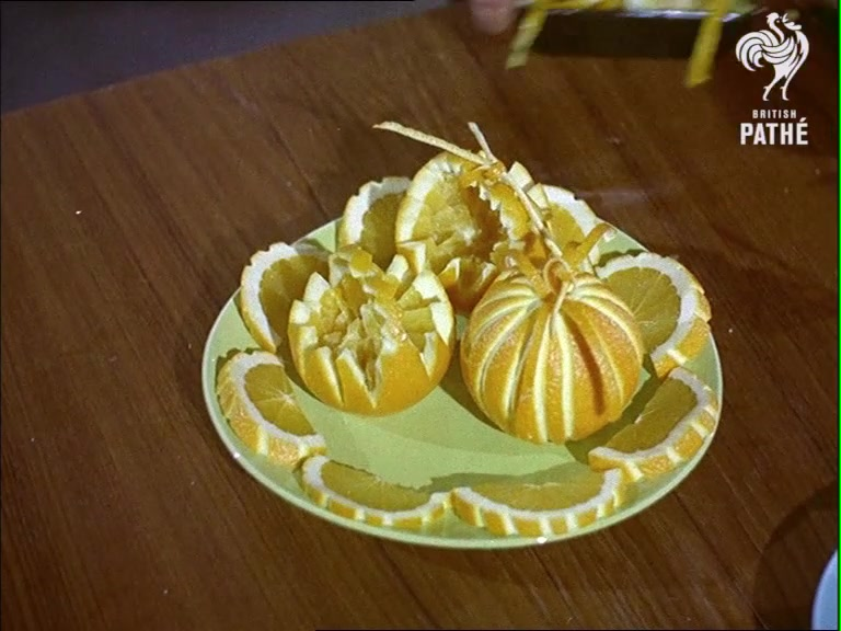 Classic Food Decorations From the 1950s