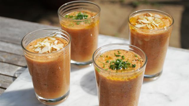 How to Make a Delicious Summer Gazpacho