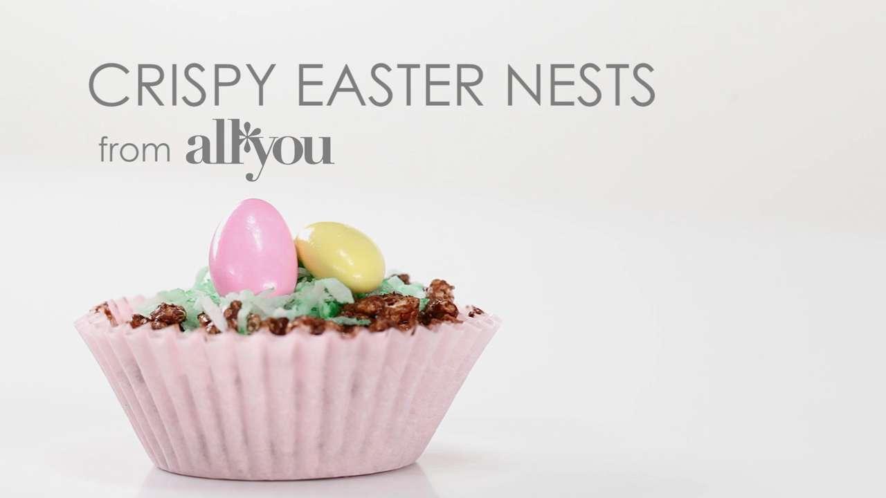 How to Make Crispy Easter Nests