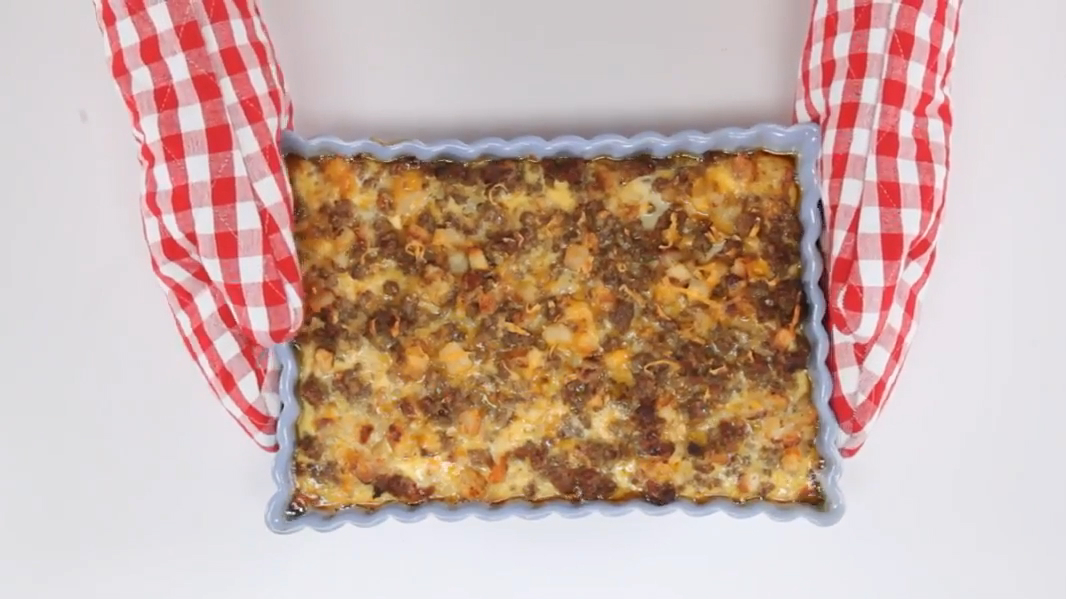 Sausage-Hash Brown Breakfast Casserole Recipe