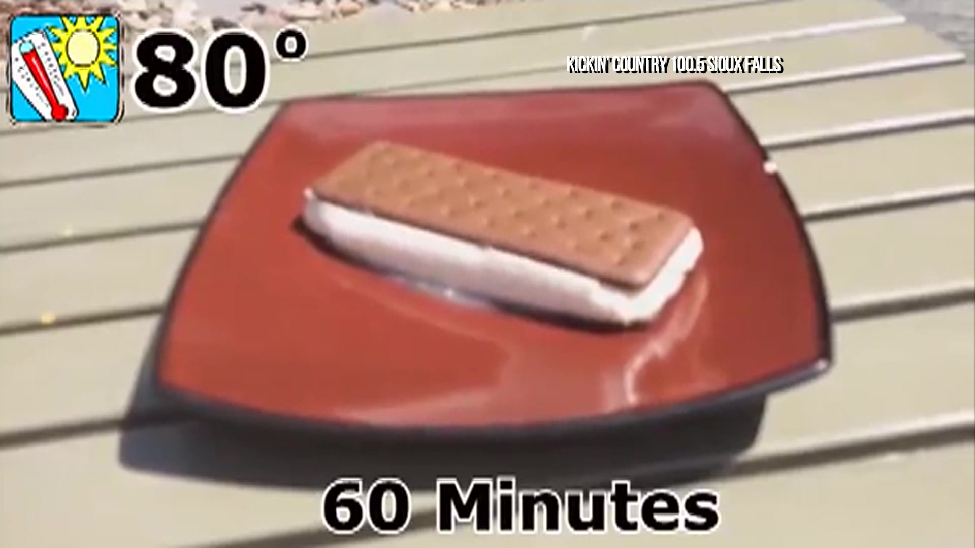 Ice Cream Sandwich Won't Melt in the Heat